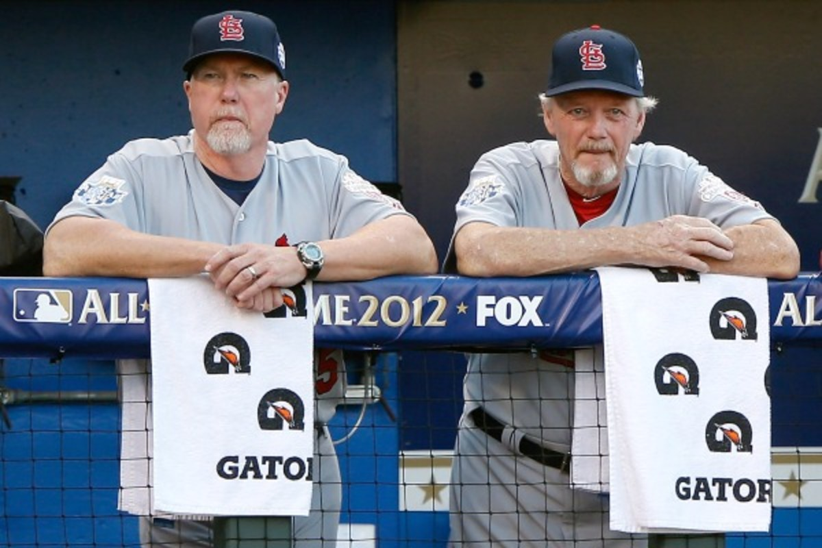 Dave Duncan (right) (Jamie Squire/Getty Images)