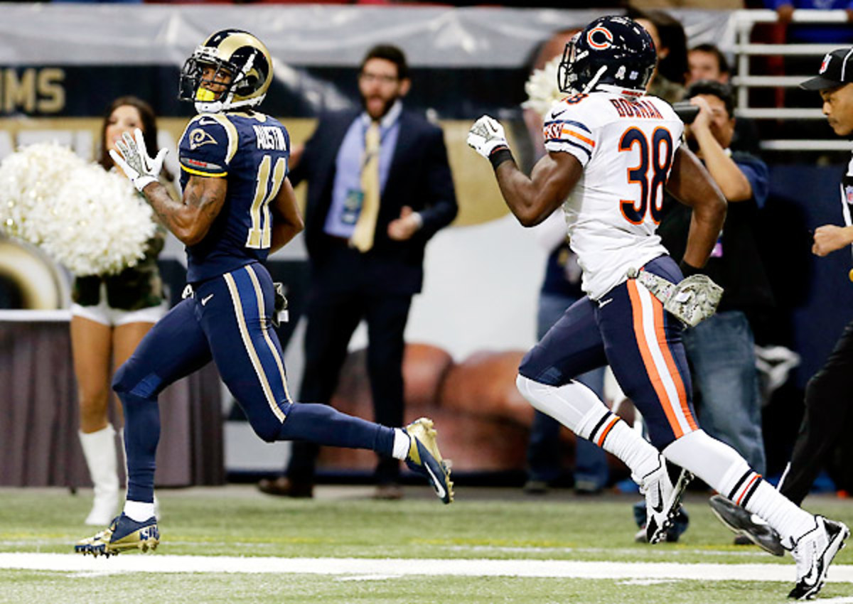 There's a lot to like about the Rams' future, especially speedster Tavon Austin.