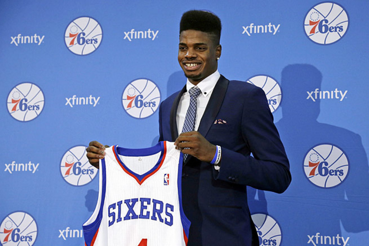 Sixers rookie center Nerlens Noel doesn't have a firm timetable for his return from knee surgery.