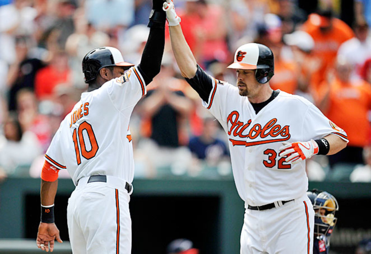 Thanks to potential MVP candidates Adam Jones and Matt Wieters, the Orioles are one of 15 or so teams with a shot at a title this year.