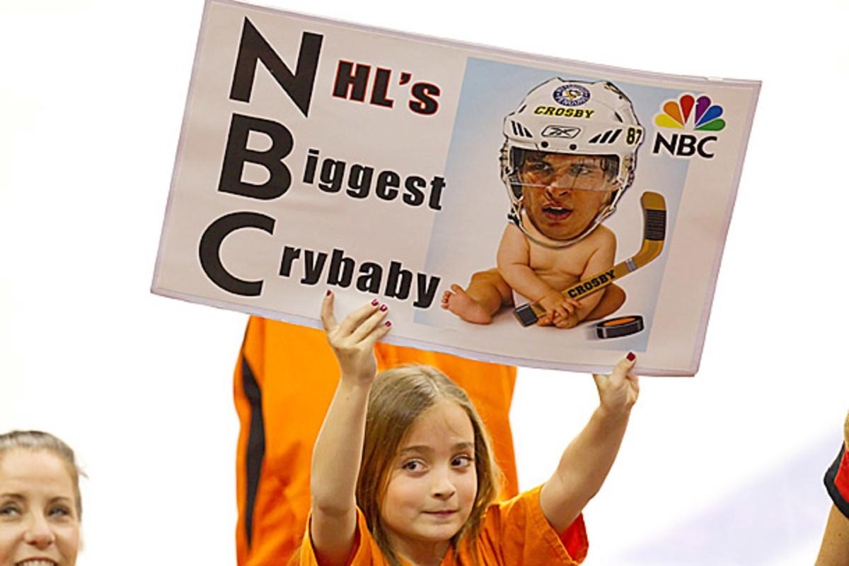 Many NHL fans hate Sidney Crosby