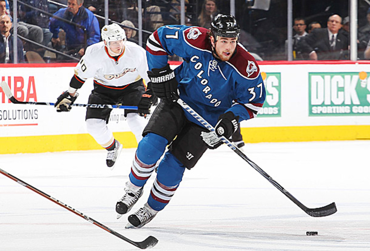 Ryan O'Reilly of the Colorado Avalanche is NHL trade bait.