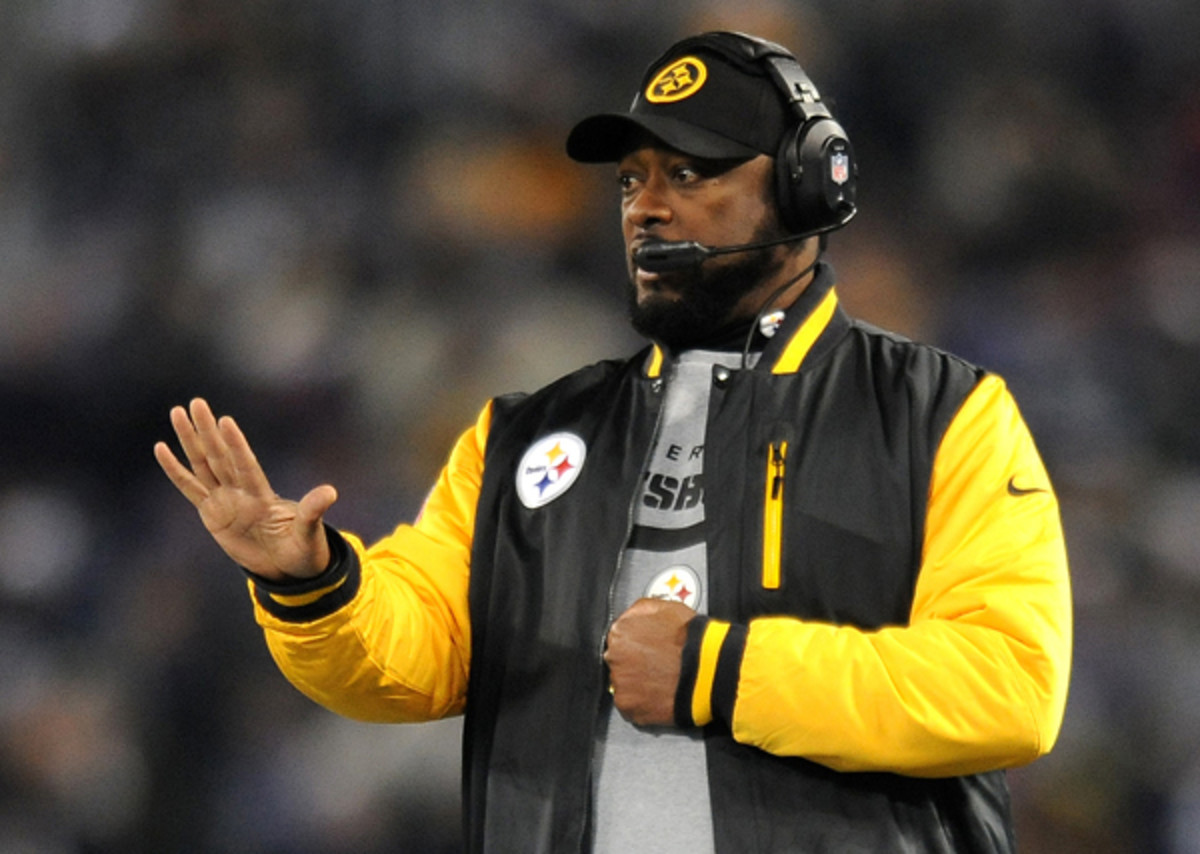 Mike Tomlin would like you to know that his actions were unintentional.