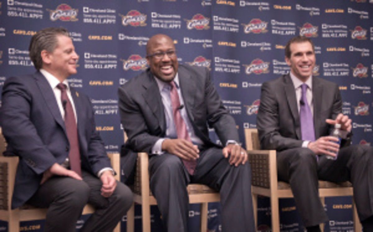 The Cavaliers will explore trading the No. 1 pick in next month's NBA Draft. (David Liam Kyle/Getty Images)