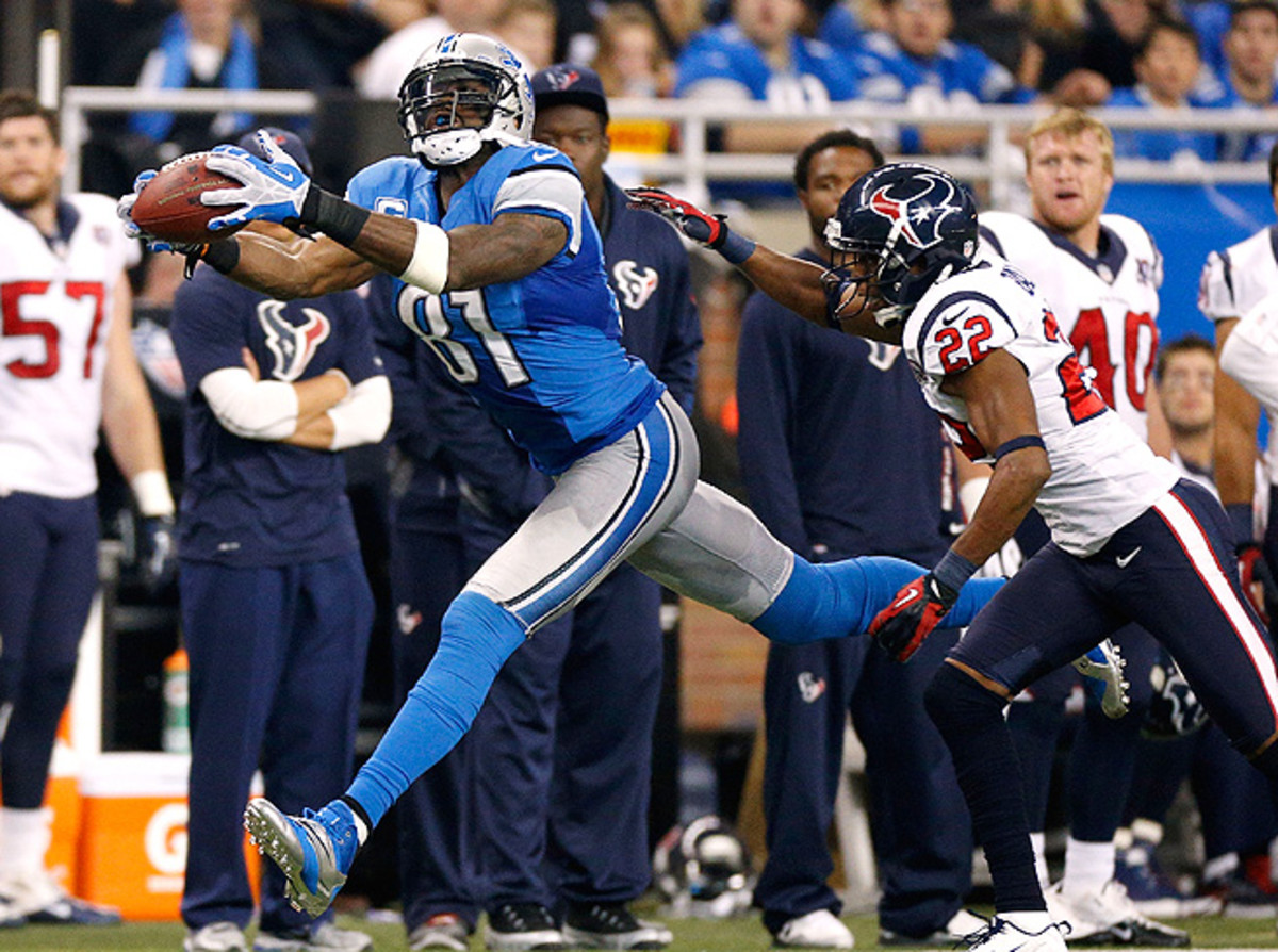 Calvin Johnson helped to keep the Lions' offense ranked in the top five the last two seasons.