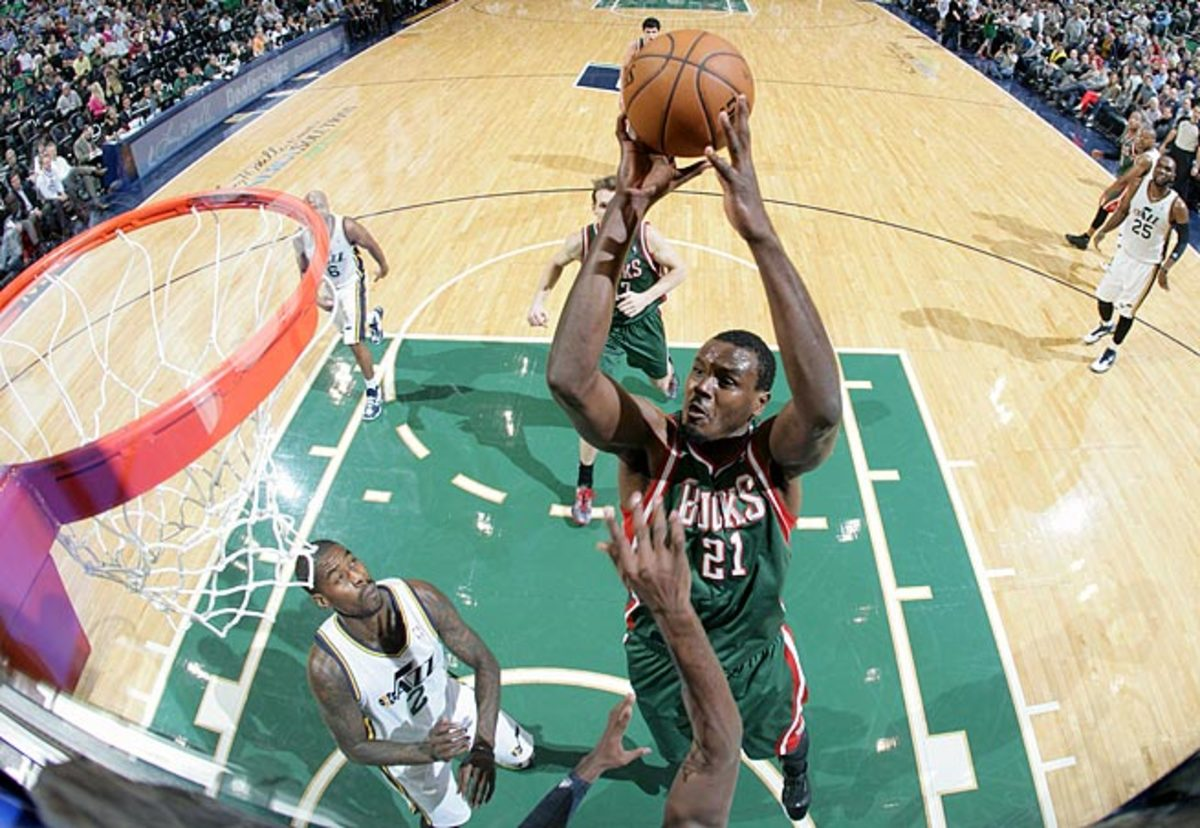 Samuel Dalembert could be Dallas' fifth different starting center in five seasons.