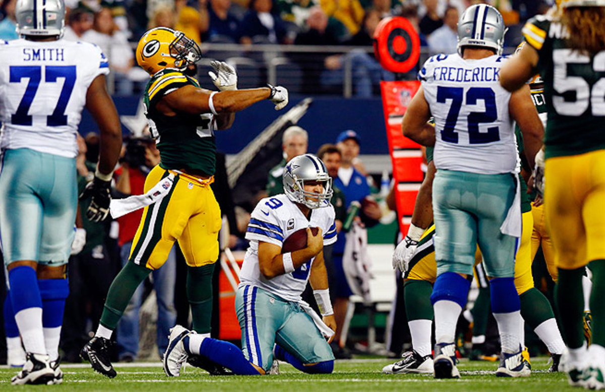 The Packers tied a franchise record for the largest comeback in team history (23 points) with the win.