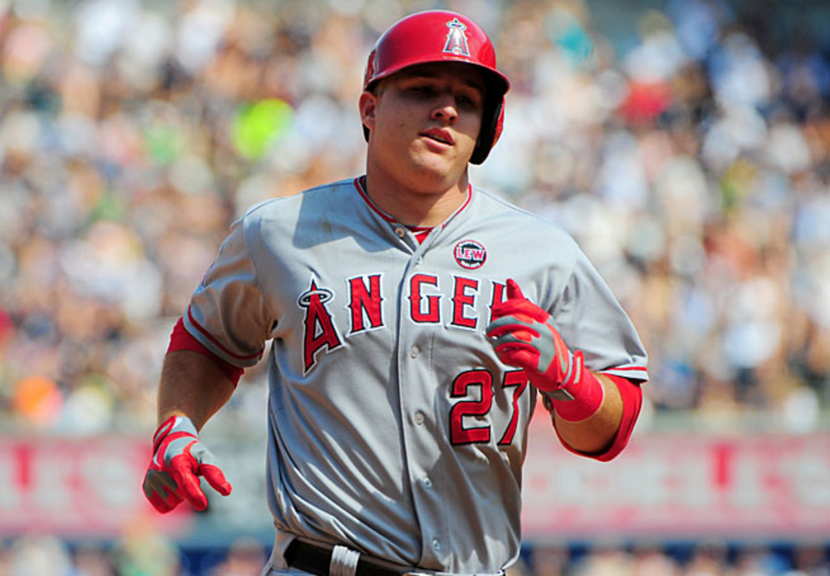 Mike Trout has been red-hot since May but a poor April could cost him the AL MVP award.