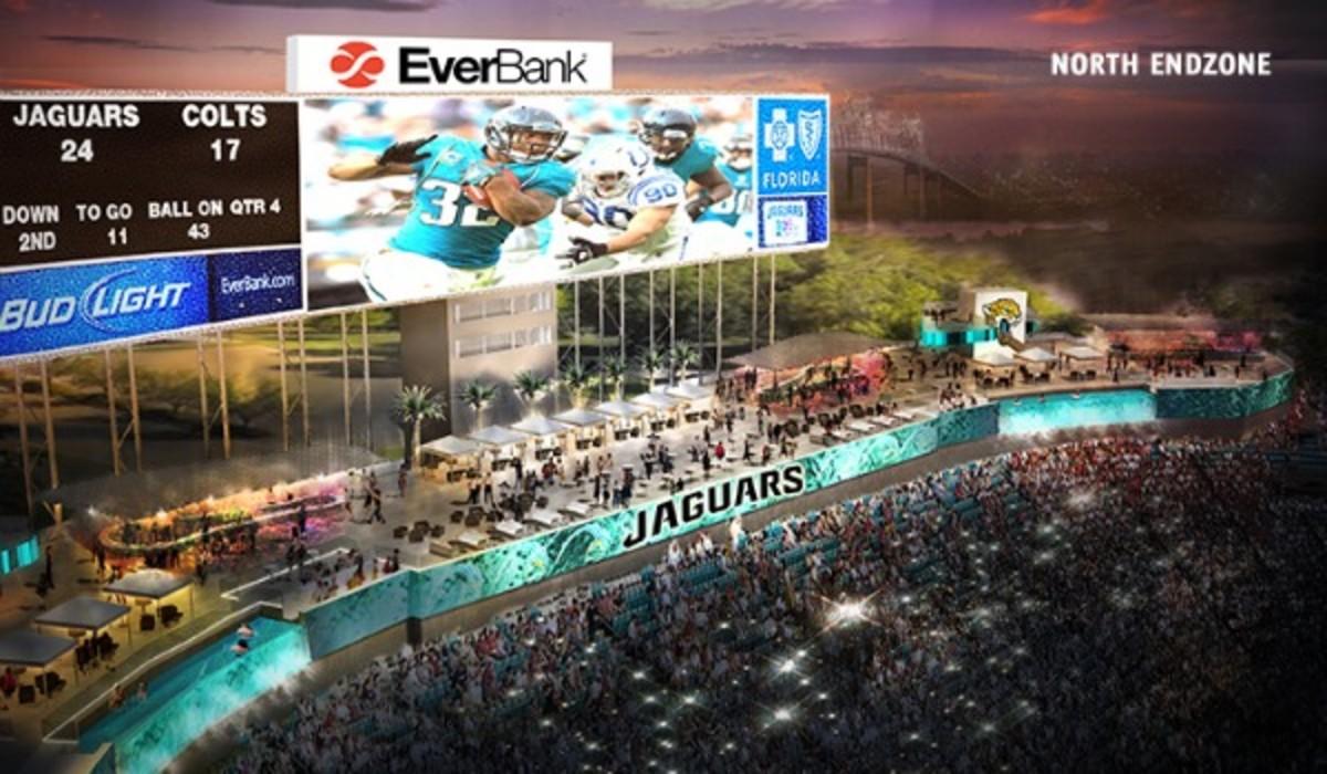 The Jaguars plan on revamping EverBank Field. (Photo/Jaguars.com)