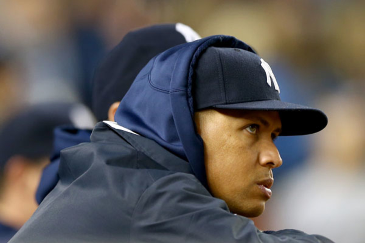 Yankees 3B Alex Rodriguez grievance hearing ended early after he walked out of the proceedings. (Elsa/Getty Images)