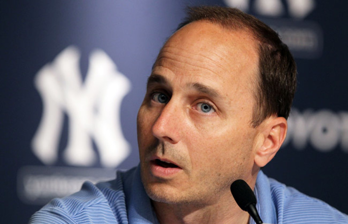 "Remarking on an Alex Rodriguez tweet, Yankees GM Brian Cashman said he ""should just shut f--- up.''"