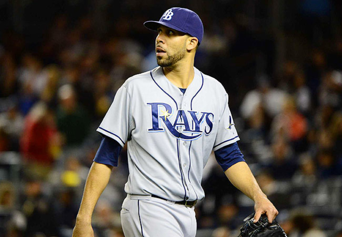 David Price has struggled this year for the Rays even before getting hurt, going 1-4 with a 5.24 ERA.
