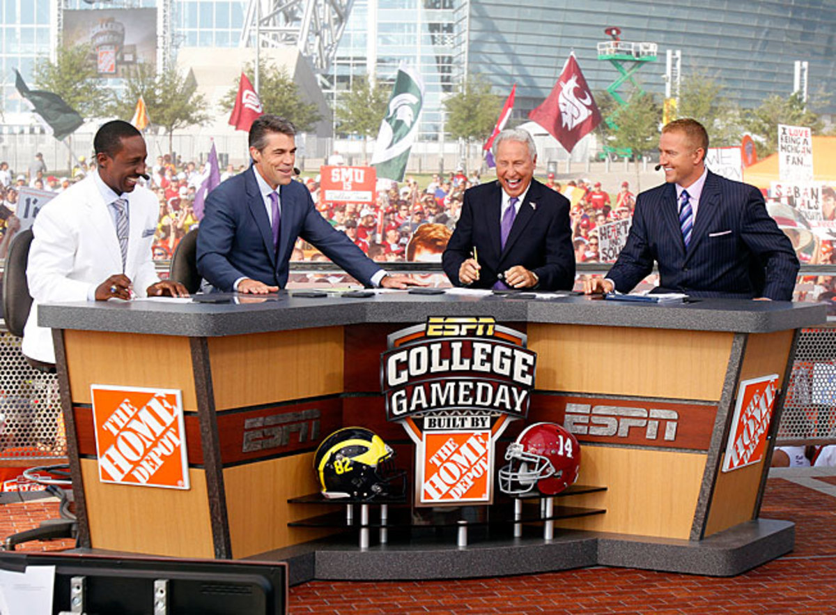 ESPN's College GameDay has become part of the weekly Saturday viewing experience for many fans.