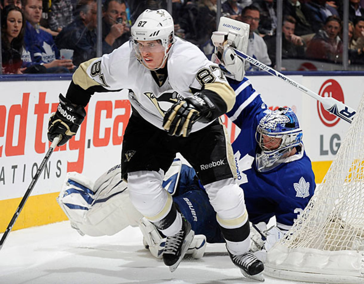 Sidney Crosby is the leading candidate for the 2013 Hart Trophy.