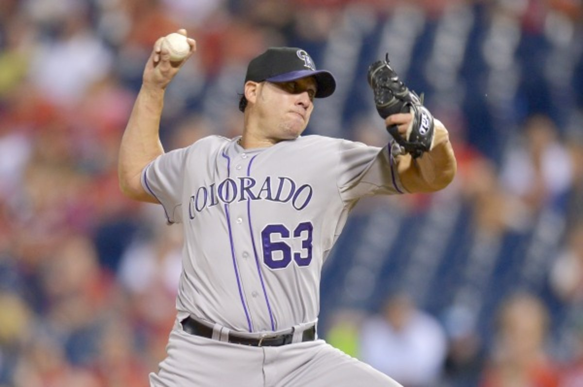 Rafael Betancourt's career could be over. (Drew Hallowell/Getty Images)