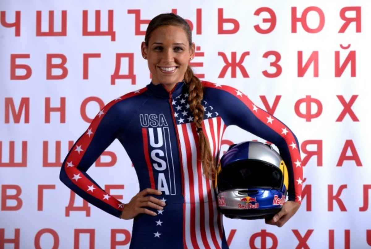 Lolo Jones won three medals in her debut season as a U.S. bobsledder.  (Harry How/Getty Images)