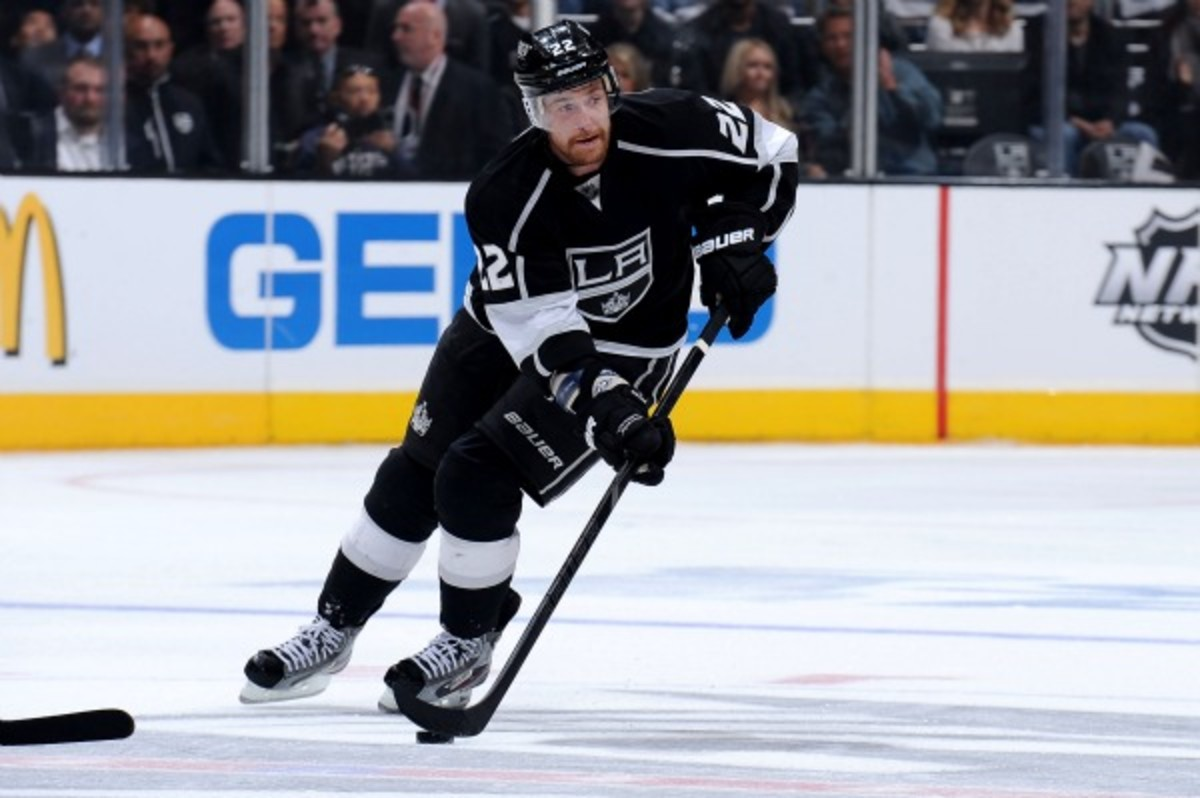 Trevor Lewis is back with the Kings on a one-year deal. (Andrew D. Bernstein/NHL)