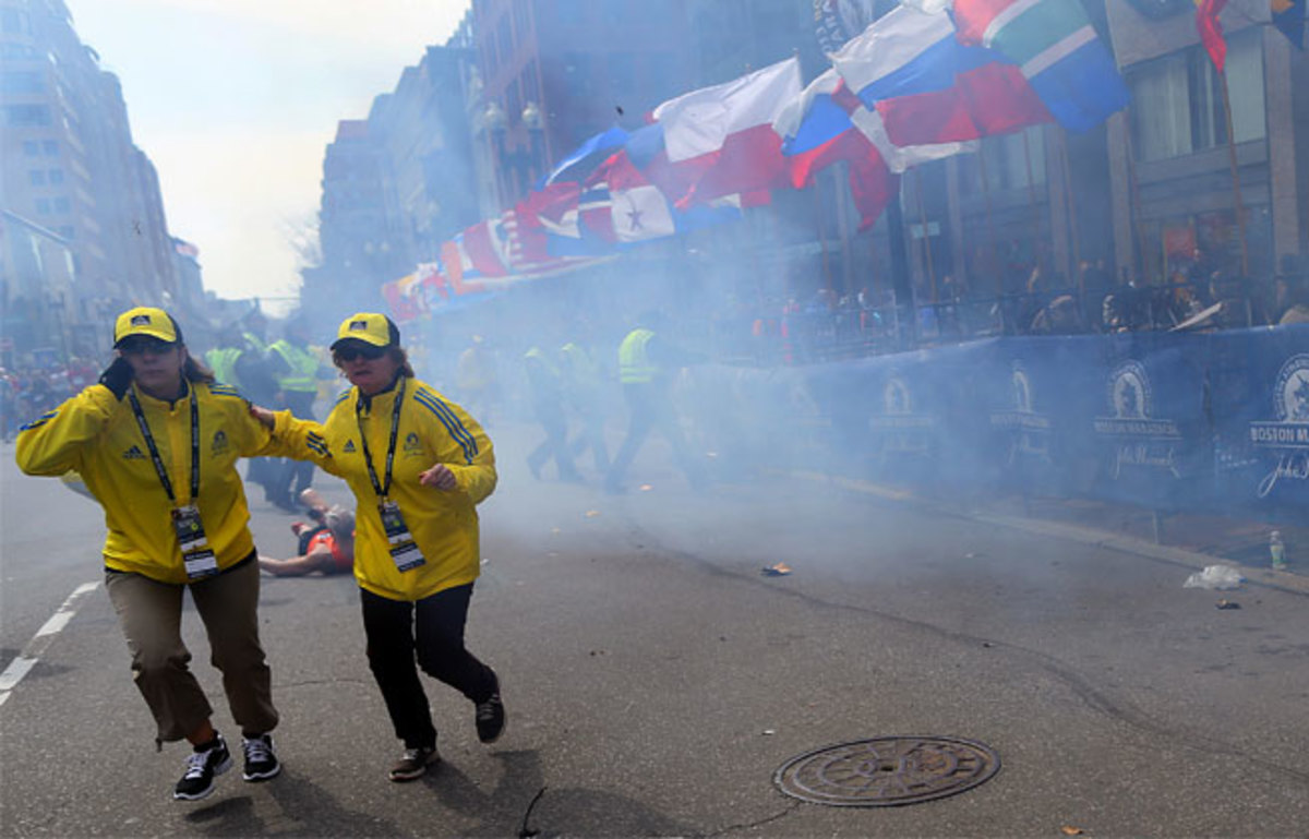 After multiple bombs went off near the finish of the Boston Marathon, other major cities worldwide have stepped up security.