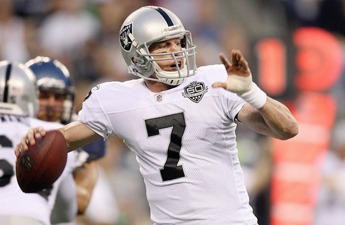 Retired QB Jeff Garcia recently hinted that he would entertain the idea of returning to the NFL.