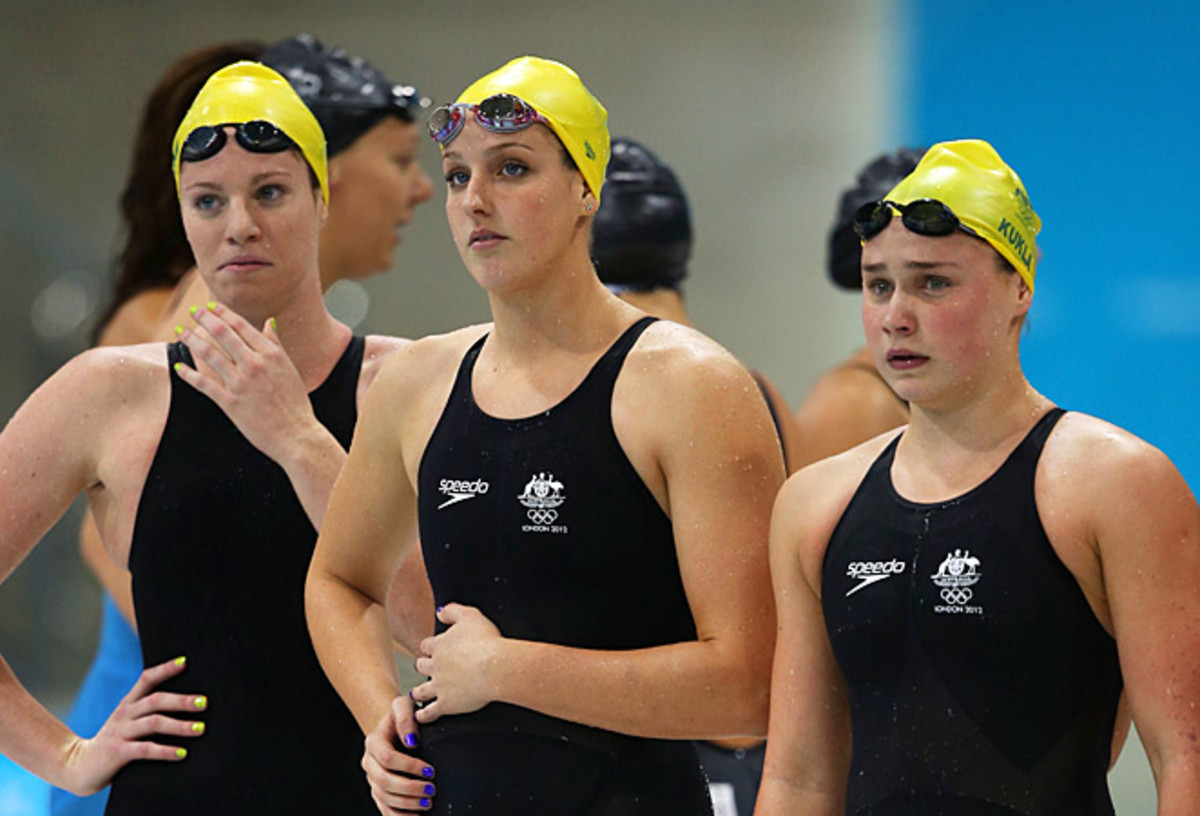 Australia's single gold medal was the country's worst Olympic swimming performance in two decades.