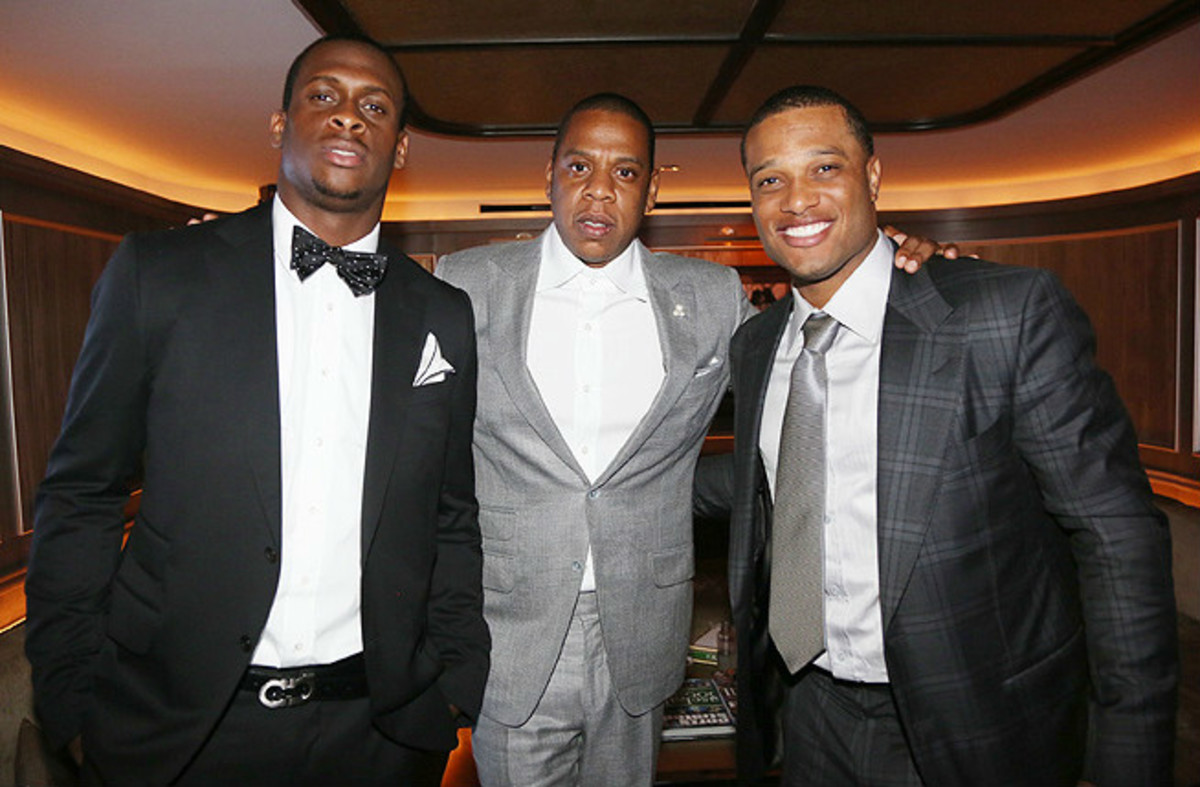 Geno Smith (left) and Robinson Cano are two of Jay Z's high-profile clients at Roc Nation Sports.