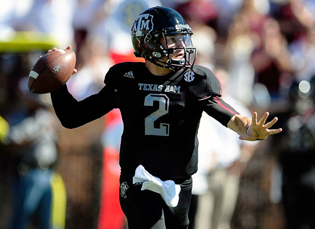 Texas A&M is continuing to give Johnny Manziel first-team practice reps leading up to its Week 1 game.