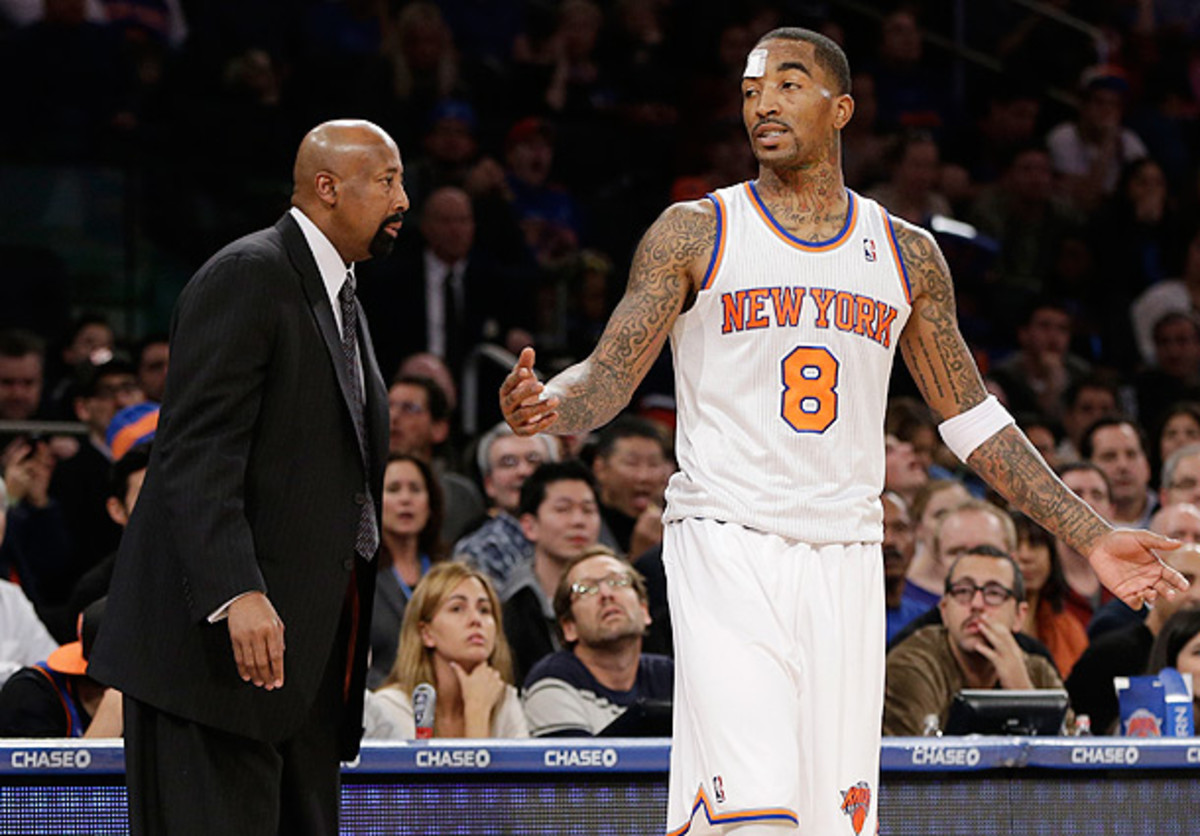 Mike Woodson, JR Smith