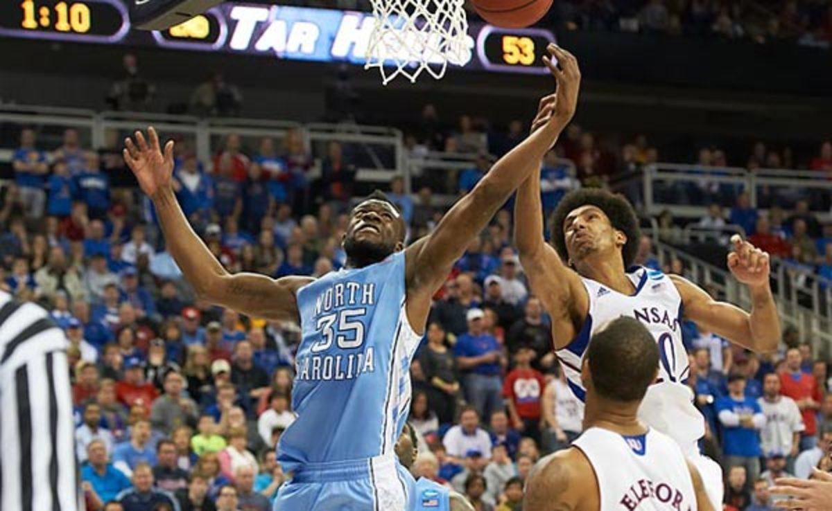 Reggie Bullock averaged 13.9 points and 6.6 rebounds at North Carolina last season.