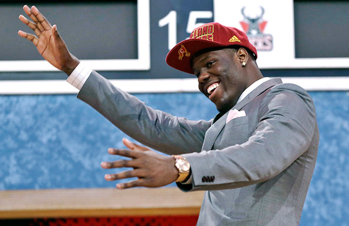 Anthony Bennett went No. 1 overall to the Cavaliers in the draft.