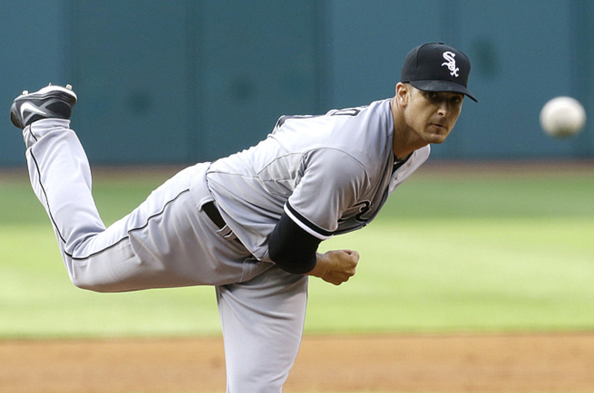Andre Rienzo, who faces the Twins this weekend, has thrown two solid games since being called up.