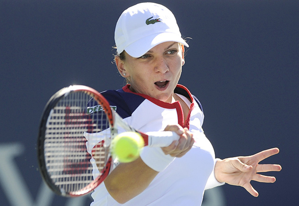 """In her words, Simona Halep played """"beautiful tennis"""" during her 6-2, 6-2 victory against Petra Kvitova."""