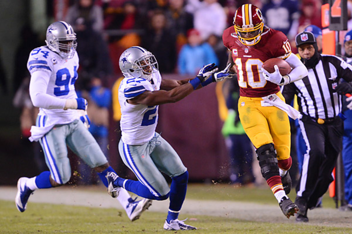 Will Robert Griffin III lead the Redskins to another division crown this year? (The Washington Post/Getty Images
