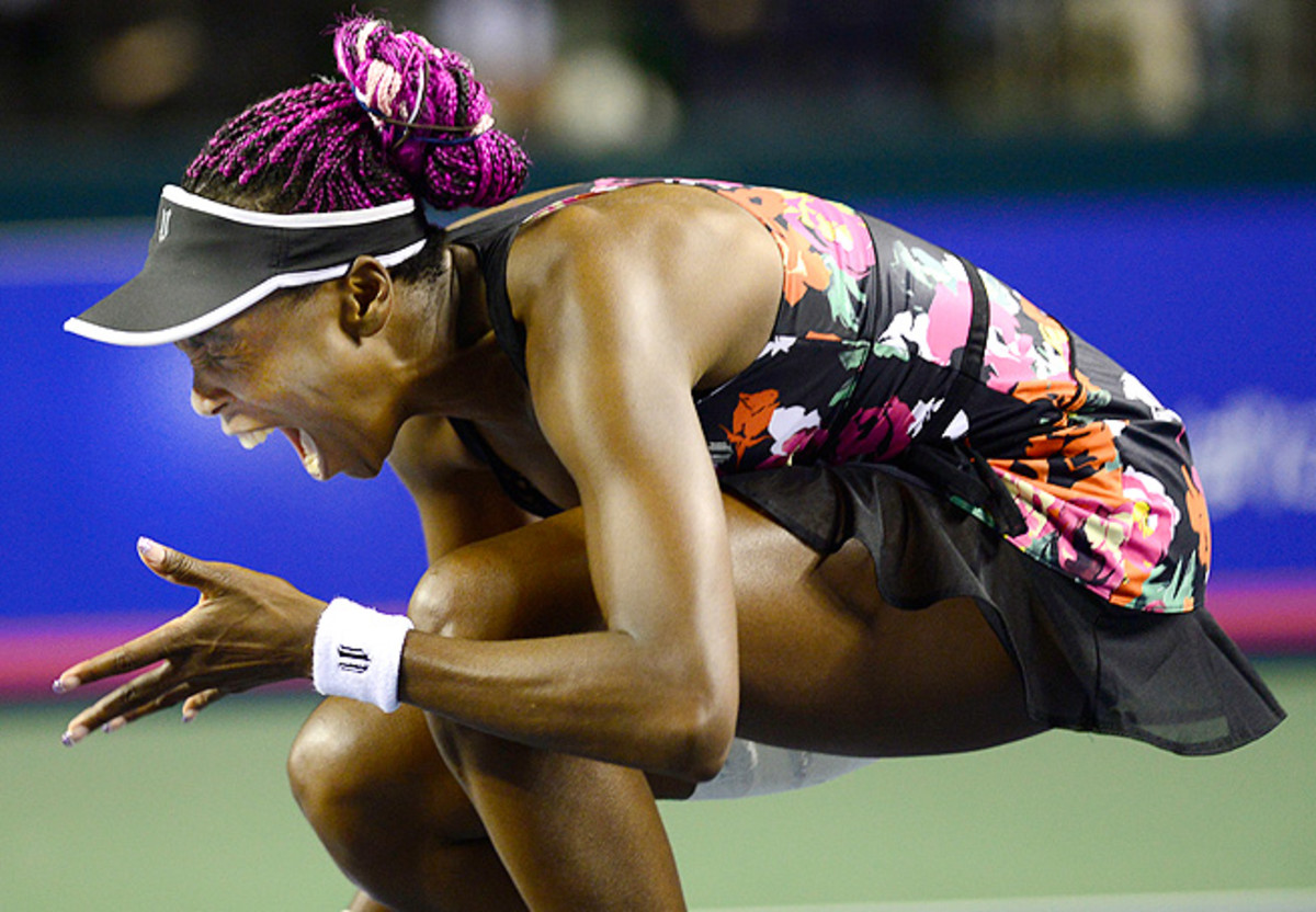 Venus Williams lost in the semifinals in Tokyo to Petra Kvitova, who will face Angelique Kerber in the finals.
