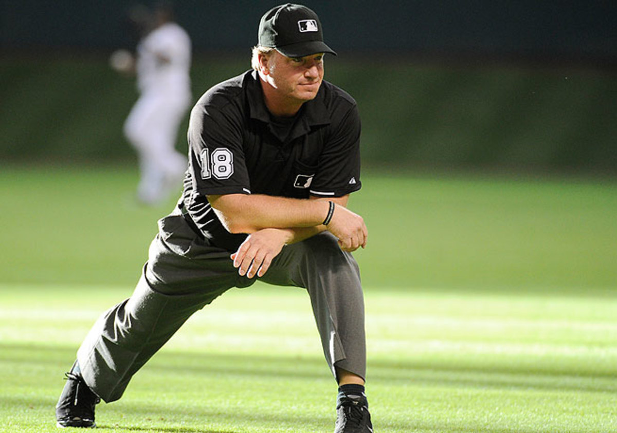 Brian Runge is reported to have failed at least one drug test before his release from umpiring.