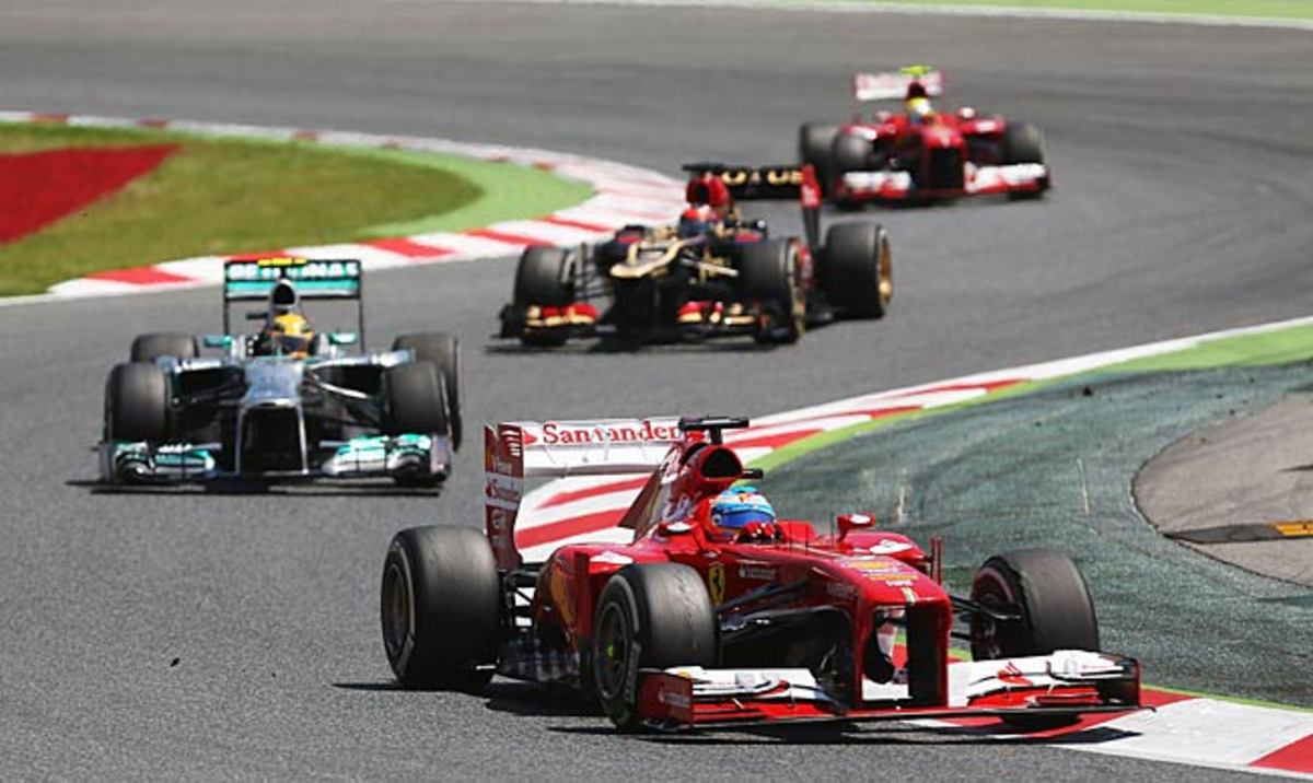Fernando Alonso and Ferrari are steadily closing the gap on Red Bull's F1 domination.