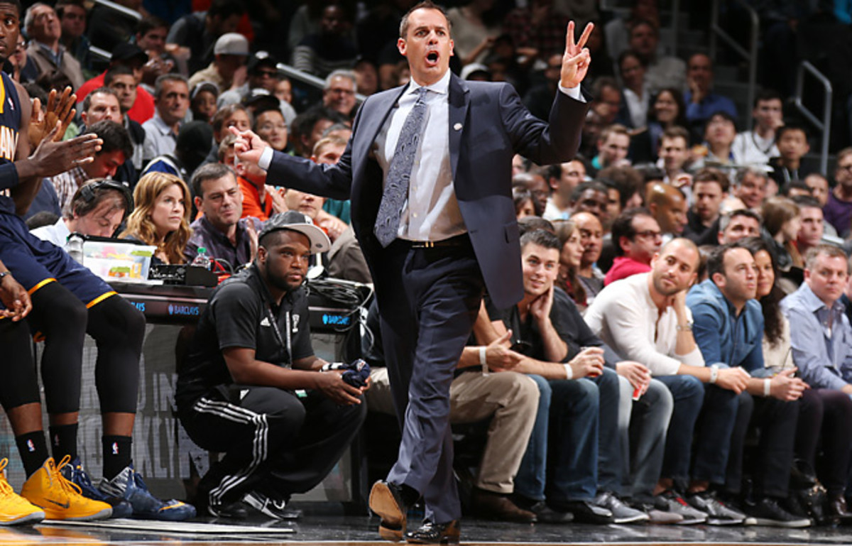 Frank Vogel has led the Pacers to a 117-74 record in three-plus seasons as the club's head coach.