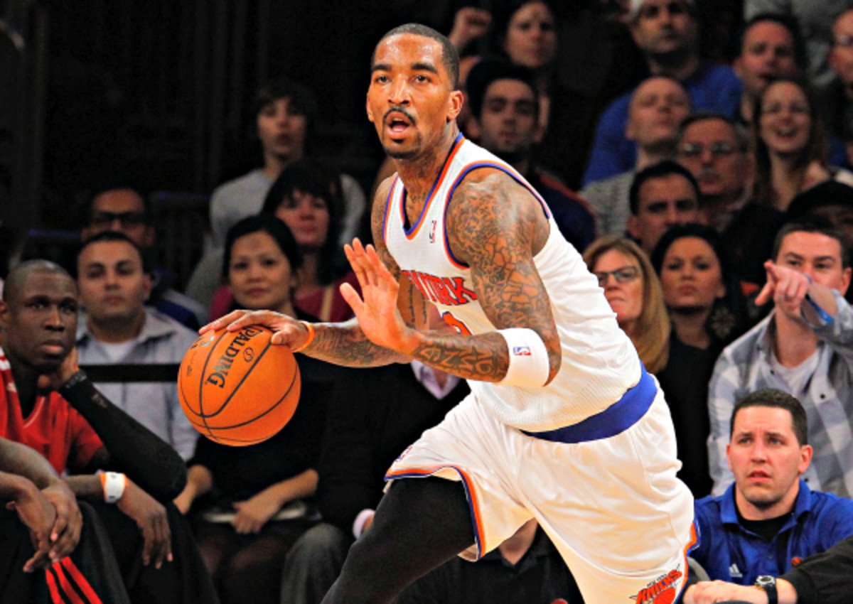 J.R. Smith has been an essential source of scoring for New York this season. (Jim McIsaac/Getty Images)