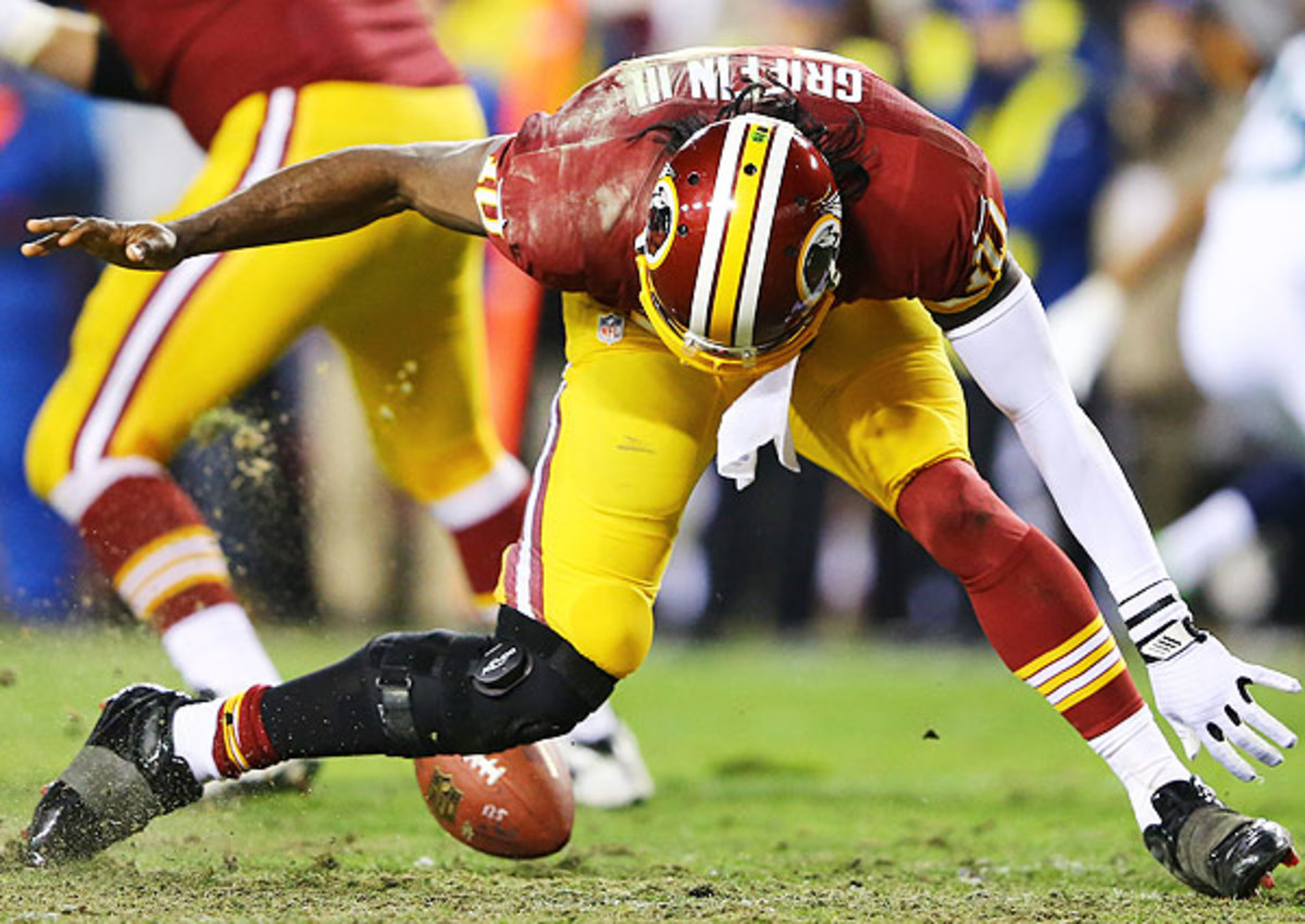 Robert Griffin III's recovery from a torn ACL and LCL is a key storyline in Washington