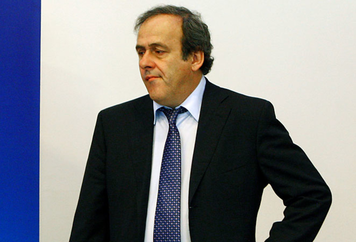 Michel Platini said goal-line technology would cost $70 million over five years.