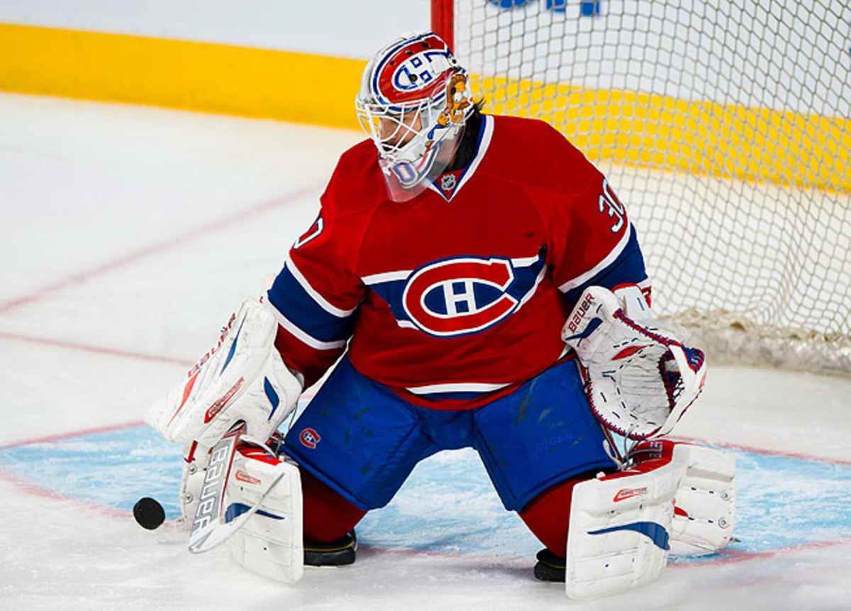 Peter Budaj has performed well this season, going 6-1-1 while providing backup for starter Carey Price.