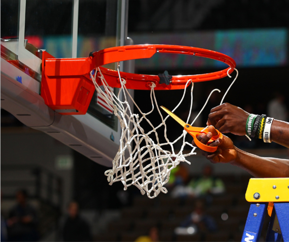 Cutting the nets :: Doug Pensinger/Getty Images