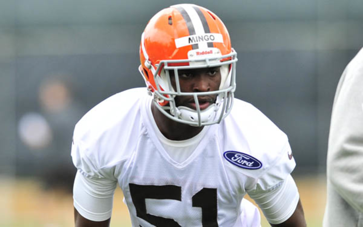 Barkevious Mingo will reportedly be unlikely to play in the team's first game. (David Dermer/Diamond Images/Getty Images)