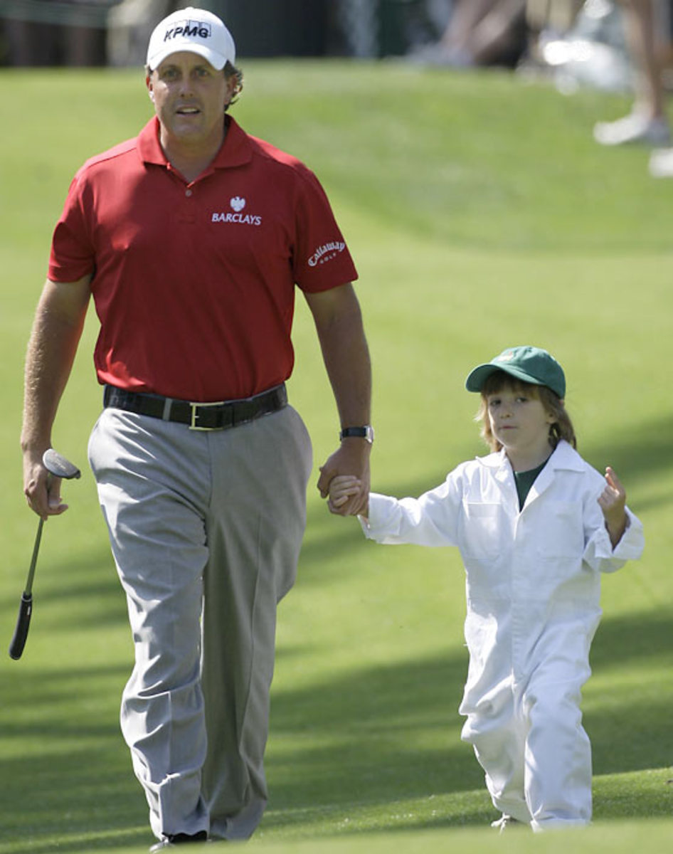 Phil and Evan Mickelson