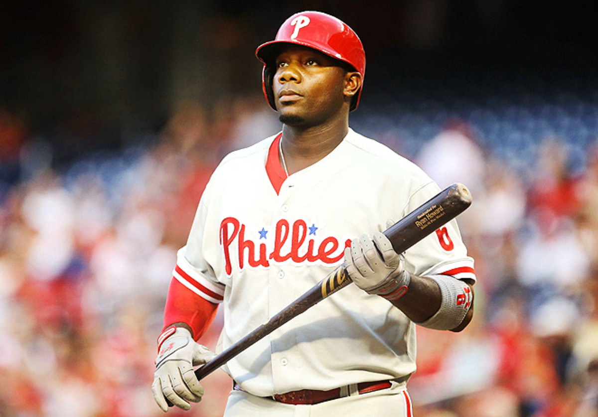 Ryan Howard missed 91 games last season with an Achilles' tear and is batting .245 this season.