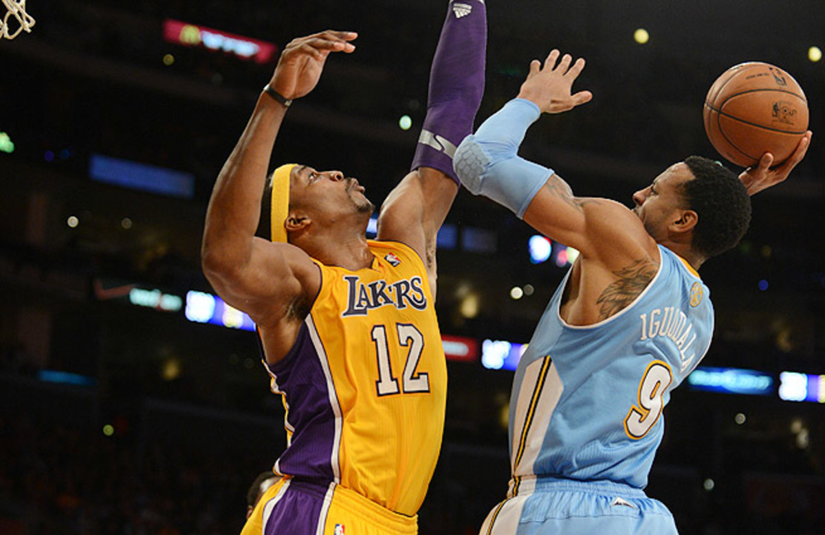 Dwight Howard, Andre Iguodala each left money on the table in free agency this summer.