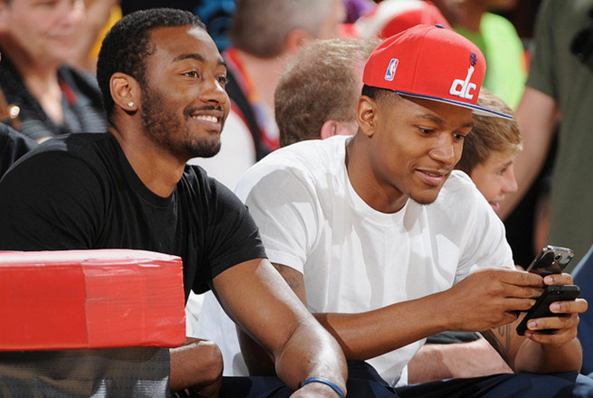 Wizards stars John Wall and Bradley Beal not only gel on the floor, but hang out extensively off it.