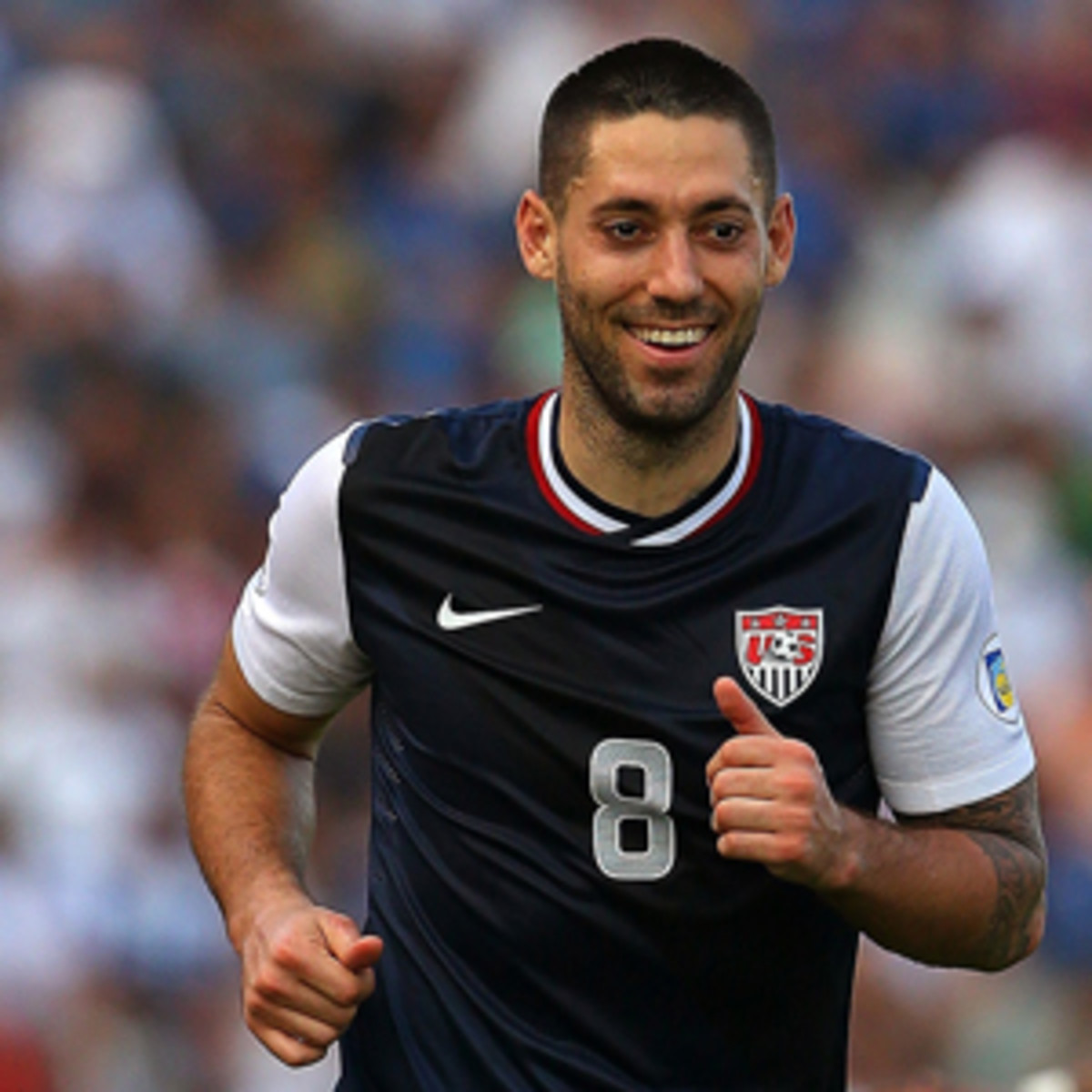 Clint Dempsey leads U.S. scorers during World Cup qualifying. (Mike Ehrmann/Getty Images)