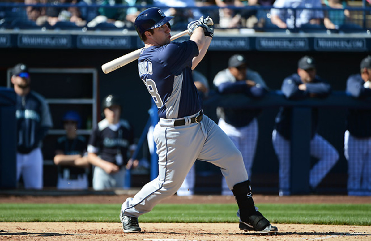 Second baseman Jedd Gyorko will be usable in fantasy leagues as soon as he arrives in the majors.