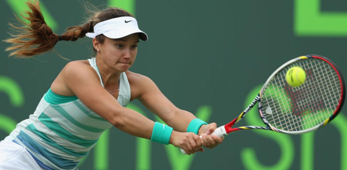Lauren Davis took Victoria Azarenka's Sony Open spot after an injury forced Azarenka to withdraw.