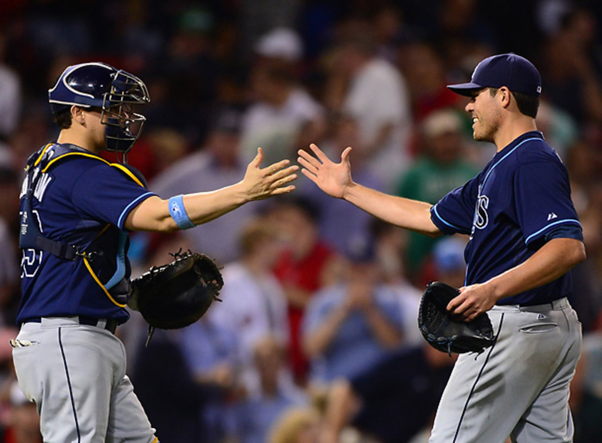 The Rays moved to 23-8 since rookie sensation Wil Myers was added to the roster. [Michael Ivins/Getty Images]
